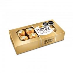 Chocolate Bombones FERRERO ROCHER Caja 100g ( 8 Unidades)