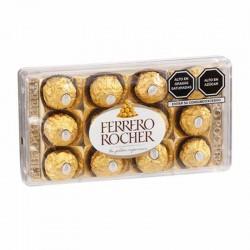 Bombones Ferrero Rocher Chocolate y Avellanas Contenido 12 Unidades