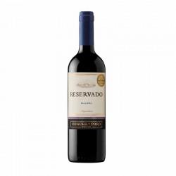Vino Tinto Concha y Toro Reservado Malbec 750 ml
