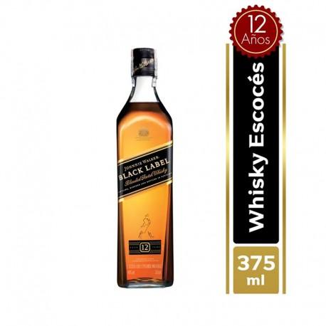 Whisky Black Label Johnnie Walker Botella 375 ml