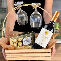 COPAS+CHOCOLATE Y VINO